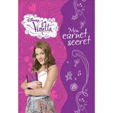 Jouet Violetta by Disney Violetta Mon Carnet Secret Livre Jeux Et Coloriages