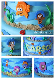 bubble guppies birthday u0026 smash cake