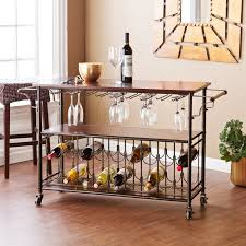 wooden furniture for kitchen wildon home dalton kitchen island with wooden top reviews