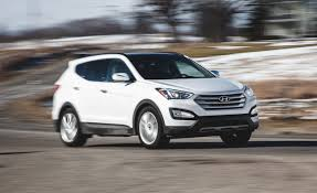 hyundai santa fe 2013 mpg 2015 hyundai santa fe sport awd 2 0t test review car and driver