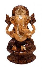 33 best wooden statues ethnic home decor from india images on