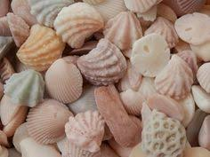 seashell soaps tresors de mers seashell soaps in apothecary jar more