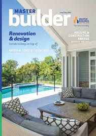 master builder magazine june july 2016 by master builders
