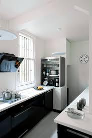 carrelage cuisine noir et blanc deco cuisine pour meuble belgique beau meuble blanc et noir finest