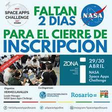 Challenge Para Que Sirve Rosario Vivirá El Nasa Space Apps Challenge Diario El Ciudadano