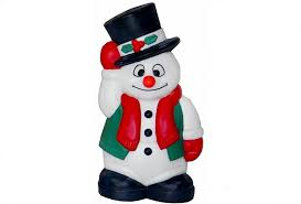 general foam promotional snowman lights creations