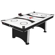 air powered hockey table atomic blazer 7 air powered hockey table bsn sports