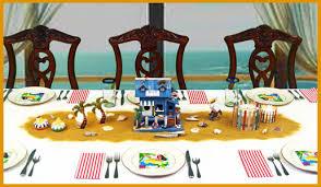surfer ocean u0026 beach themed centerpieces dinner party decorations