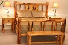 Rustic Log Bedroom Furniture Brilliant Rustic Pine Bedroom Furniture Pine Log Bedroom Sets Best