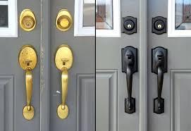Exterior Door Lockset Front Door Handleset Ets Exterior Door Hardware Canada