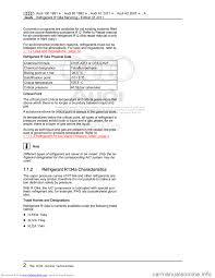 audi 100 1991 44 refrigerant r134a servising workshop manual