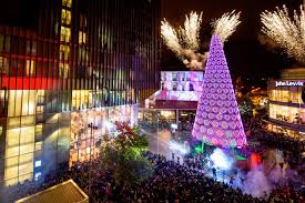 thousands gather for christmas lights switch on your move magazine