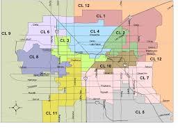 Nevada Map Legislative District Maps