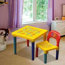 playroom table and chairs alphabet chair table set kids children playroom plastic abc table