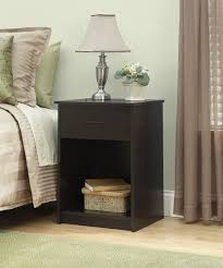 bedroom end table decor amazoncom ameriwood home core nightstand espresso kitchen dining