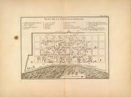 Maps Of New Orleans by 1760s Map Of New Orleans