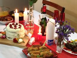 Valentine S Dinner At Home by Candle Light Dinner At Home Decoration Candle Light Dinner Best