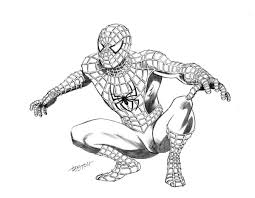 drawing spider man free coloring pages art coloring pages