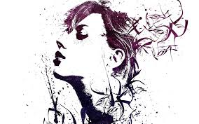 Paint Splatter Wallpaper by Artwork Scarlett Johansson Paint Splatter Alex Cherry Wallpapers