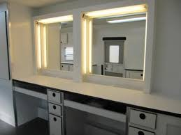 hair and makeup station make up trailers deluxe 8 station hair make up trailers with pop out