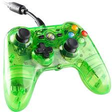 power a mini pro ex wired controller for microsoft xbox 360 clear