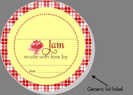 canning label template great british summer strawberry jam jar