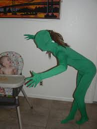 Green Man Meme - my daughter thought the green man suit was hilarious imgur