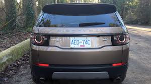 land rover discovery sport trunk space 2016 land rover discovery sport se test drive review