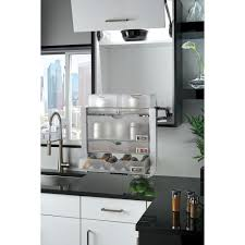 Kitchen Cabinet Shelving Systems by Rev A Shelf 22 5 In H X 22 25 In W X 10 5 In D Universal Wall