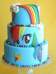 my little pony cake rainbow dash cake by cutie pie cakes and