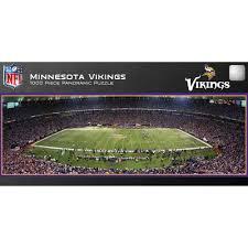 master pieces minnesota vikings panoramic stadium puzzle 1 000