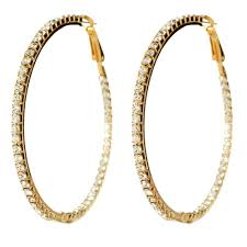 earring hoops farrah hoop earring shop amrita singh jewelry