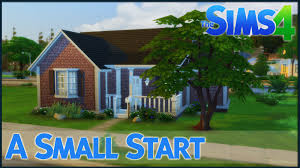 Build A Small Home The Sims 4 Speed Build A Small Start Youtube