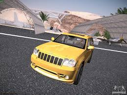 jeep cherokee yellow jeep grand cherokee srt8 for gta san andreas