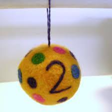 christmas ball handmade felt toys