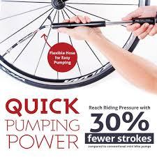 Zefal Bike Pump Instructions by Amazon Com Bike Pump With Gauge By Pro Bike Tool Fits Presta