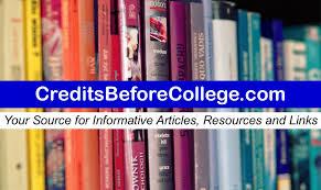 resources u2022 credits before college