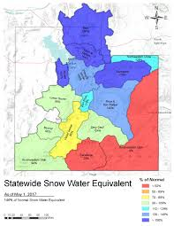 United States Snow Cover Map by Snow Survey Nrcs Utah