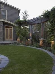 Privacy Backyard Ideas Privacy For The Backyard Add A Pergola Separately But With Style