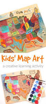 Map Art Kids Map Art A Creative Activity To Help Children Learn