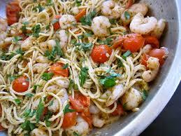 Dinner Ideas With Shrimp And Pasta Pesto Shrimp Pasta Budget Bytes