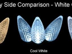 warm white cool white led lights lighting