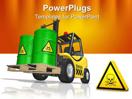 forklift powerpoint templates crystalgraphics