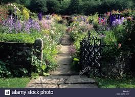 sleitholmedale lodge yorkshire edwardian garden wrought iron gate