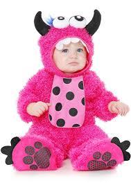 Toddler Monster Halloween Costume Infant Toddler Pink Monster Madness Plush Costume