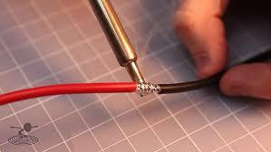 solder thick gauge wire flite test