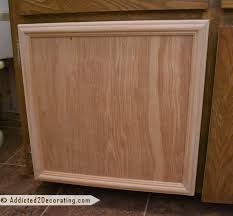 How To Make Cabinet Door Bathroom Makeover Day 3 How To Make Cabinet Doors Without Using
