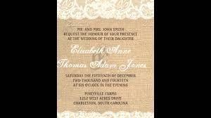 burlap wedding invitations burlap wedding invitations