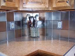 metal kitchen backsplash tiles best tin kitchen backsplash ideas of tin kitchen backsplash
