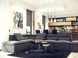livingroom l brown sectional living room ideas room open plan gray decorating